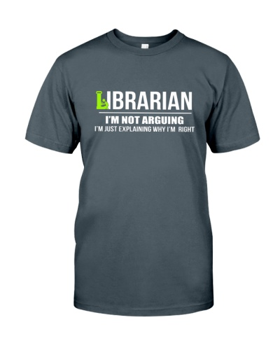 LIBRARIAN - I'M NOT ARGUING