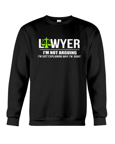 LAWYER - I'M NOT ARGUING