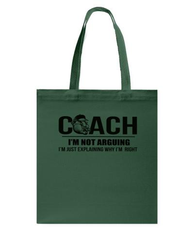 COACH - I'M NOT ARGUING