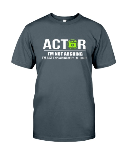 ACTOR - I'M NOT ARGUING
