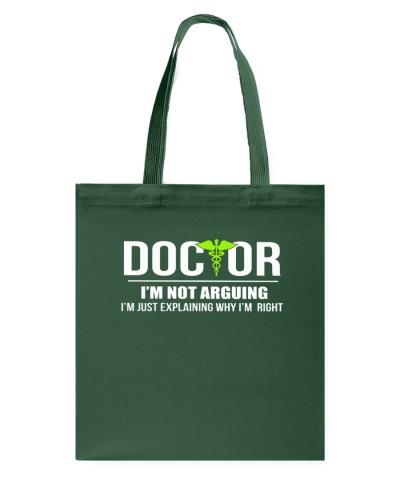 DOCTOR - I'M NOT ARGUING