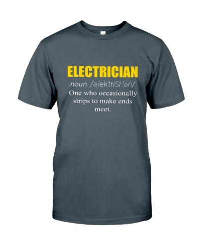 ELECTRICIAN - NOUN