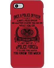 ALWAYS A POLICE OFFICER 2 Phone Case i-phone-7-case