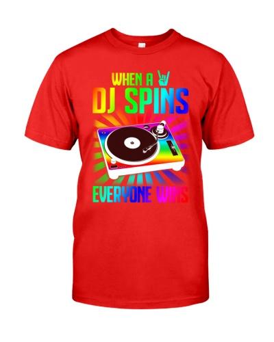 WHEN A DJ SPINS