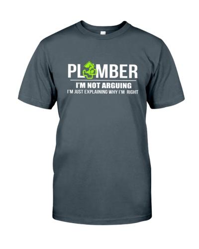PLUMBER - I'M NOT ARGUING