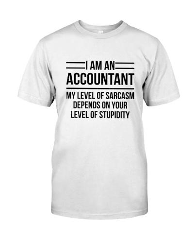 ACCOUNTANT - LEVEL OF SARCASM