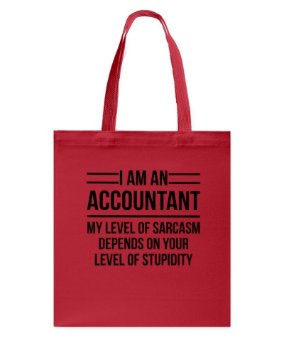 ACCOUNTANT - LEVEL OF SARCASM