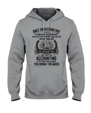 ALWAYS AN ACCOUNTANT 2 Hooded Sweatshirt front