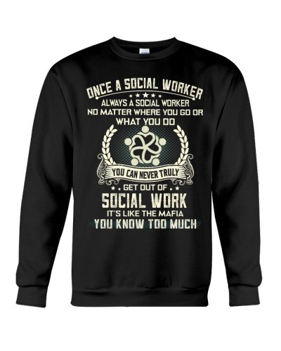 ALWAYS A SOCIAL WORKER
