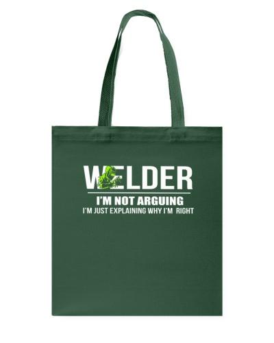 WELDER - I'M NOT ARGUING