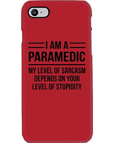 PARAMEDIC - LEVEL OF SARCASM