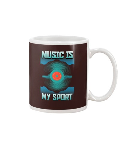 MUSIC IS MY SPORT