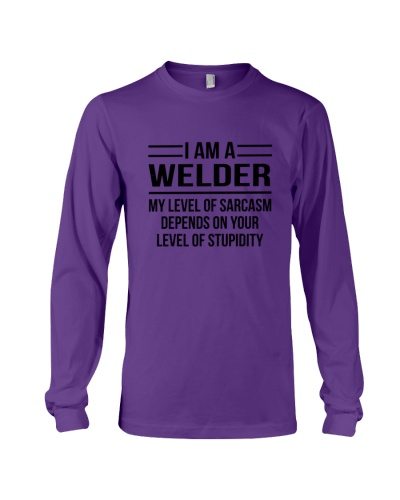 WELDER - LEVEL OF SARCASM