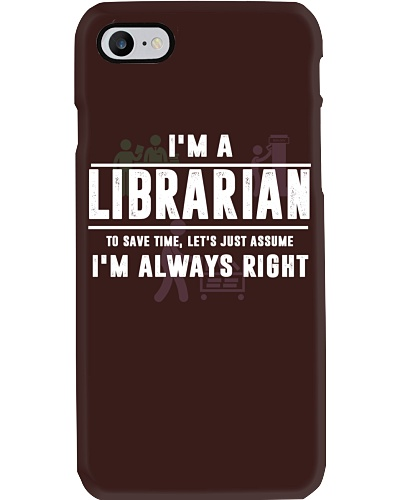 LIBRARIAN - I'M ALWAYS RIGHTL