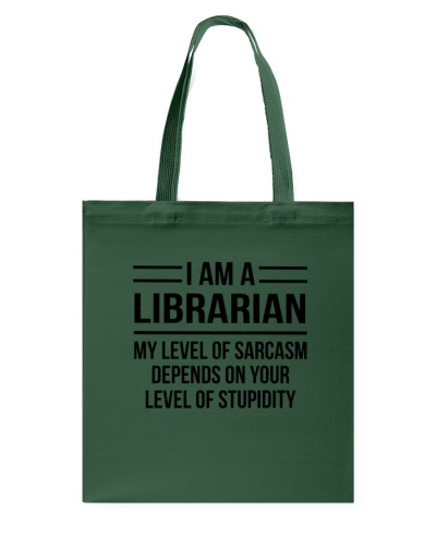 LIBRARIAN - LEVEL OF SARCASM