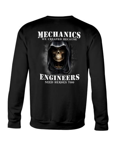 MECHANIC - BECAUSE ENGINERS NEED HEROES