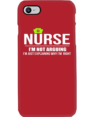 NURSE - I'M NOT ARGUING
