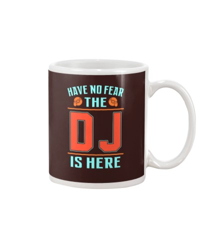 THE DJ IS HERE