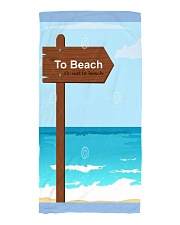 beach towel summer sea vacation Beach Towel front