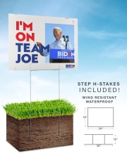 I am on team Joe yard sign 24x18 Yard Sign aos-yard-sign-24x18-lifestyle-front-30