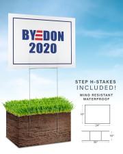 BYEDON 2020 Yard Sign 24x18 Yard Sign aos-yard-sign-24x18-lifestyle-front-30