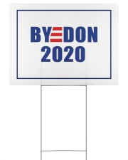 BYEDON 2020 Yard Sign 24x18 Yard Sign back