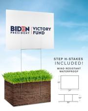 Biden victory fund basic yard sign 24x18 Yard Sign aos-yard-sign-24x18-lifestyle-front-30