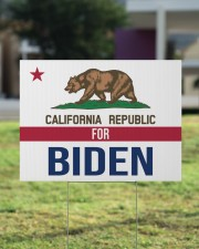 California republicans for Biden sign 24x18 Yard Sign aos-yard-sign-24x18-lifestyle-front-22