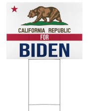 California republicans for Biden sign 24x18 Yard Sign back