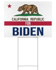 California republicans for Biden sign 24x18 Yard Sign front