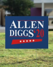 Allen Diggs 20 yard sign 24x18 Yard Sign aos-yard-sign-24x18-lifestyle-front-22