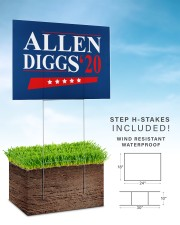 Allen Diggs 20 yard sign 24x18 Yard Sign aos-yard-sign-24x18-lifestyle-front-30