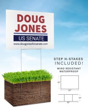 Doug jones yard signdoug jones yard sign 24x18 Yard Sign aos-yard-sign-24x18-lifestyle-front-30