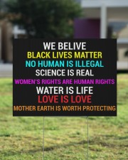 Black Lives Matter yard sign 24x18 Yard Sign aos-yard-sign-24x18-lifestyle-front-22