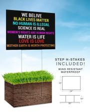 Black Lives Matter yard sign 24x18 Yard Sign aos-yard-sign-24x18-lifestyle-front-30