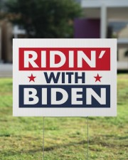 ridin with biden yard sign 24x18 Yard Sign aos-yard-sign-24x18-lifestyle-front-22