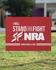 NRA BASIC Yard Sign 24x18 Yard Sign aos-yard-sign-24x18-lifestyle-front-22