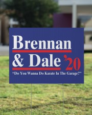 Brennan and dale 2020 yard sign 24x18 Yard Sign aos-yard-sign-24x18-lifestyle-front-22