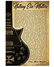 NOTHING ELSE MATTERS 24x36 Poster front