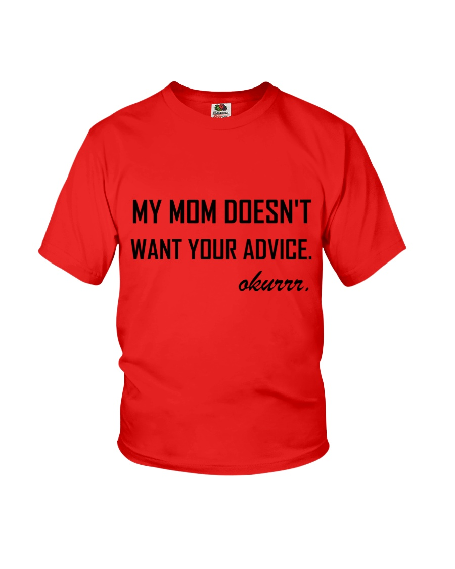 i love my mom T shirt Youth T-Shirt