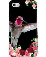 Hummingbird in Roses Phone Case i-phone-7-case