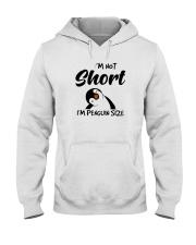 Im Not Short Im Penguin Size Hooded Sweatshirt thumbnail