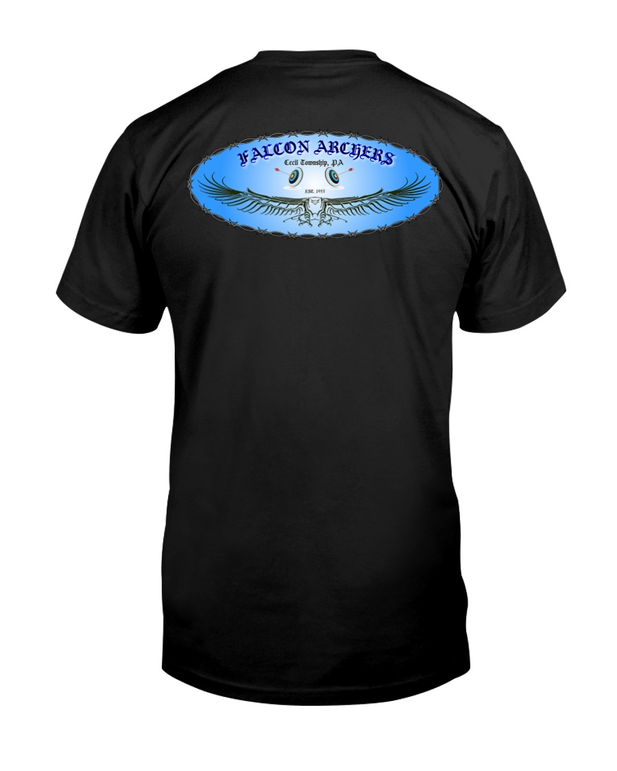 Falcon Archers New Logo 2 Premium Fit Mens Tee