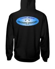 Falcon Archers New Logo 2 Hooded Sweatshirt back