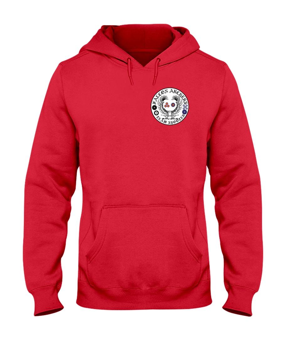 Falcon Archers New Logo 2 Hooded Sweatshirt