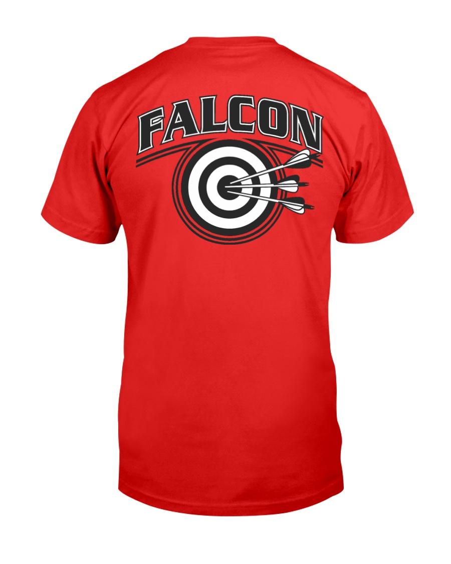 Falcon Archers Retro Logo 2 Premium Fit Mens Tee