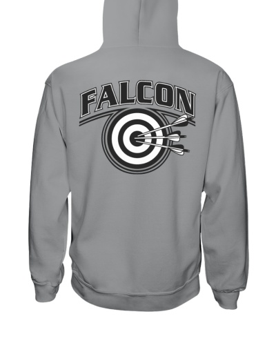 Falcon Archers Retro Logo 2