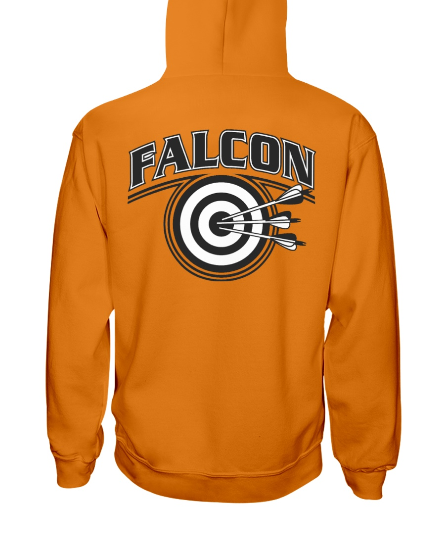 Falcon Archers Retro Logo 2 Hooded Sweatshirt