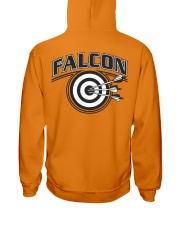 Falcon Archers Retro Logo 2 Hooded Sweatshirt back