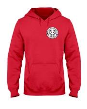 Falcon Archers Retro Logo 2 Hooded Sweatshirt front